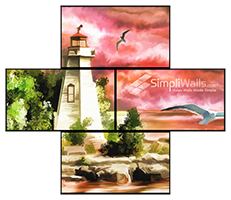 Samsung 4-Display Artistic Wall Package - 700 nits 24/7