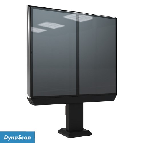 "Dynascan Double 47"" Outdoor Menu Board System - 3000 nits"