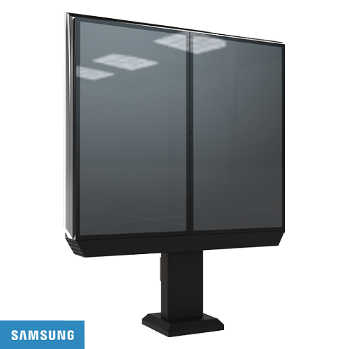 "Samsung Double 46"" Outdoor Menu Board System - 3000 nits"