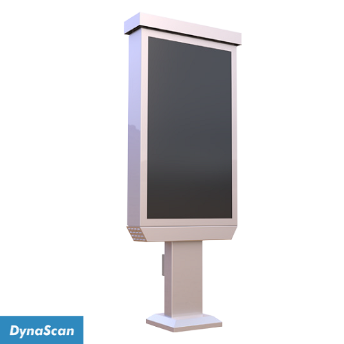 "Dynascan Single 47"" Outdoor Menu Board System - 3000 nits"
