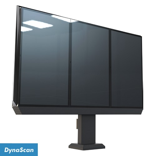 "Dynascan Triple 55"" Outdoor Menu Board System - 3500 nits"