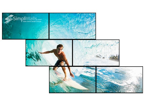 Samsung 6-Display Artistic Wall Package - 700 nits 24/7