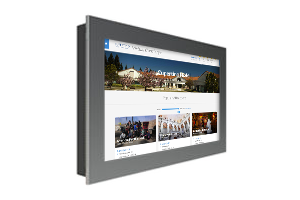 "40"" Sharp In-Wall Landscape Touch Kiosk 300 nits 1080P"