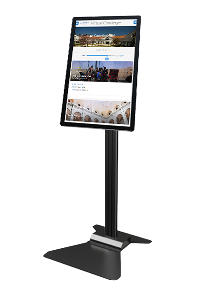 "32"" ViewSonic Floor Standing Touch Kiosk 300 nits 1080P"