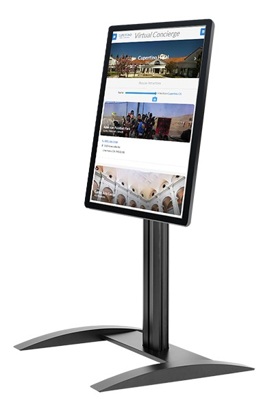 "32"" ViewSonic Free Standing Touch Kiosk 300 nits 1080P"